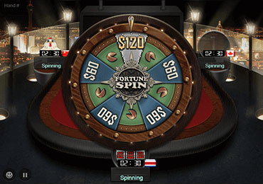 GGPoker Fortune Spin Game