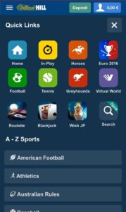 Will Hill Sports Betting App